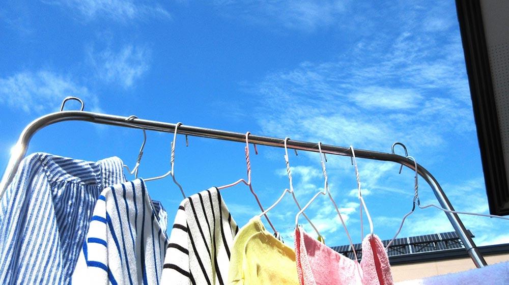 ベランダ・洗濯物